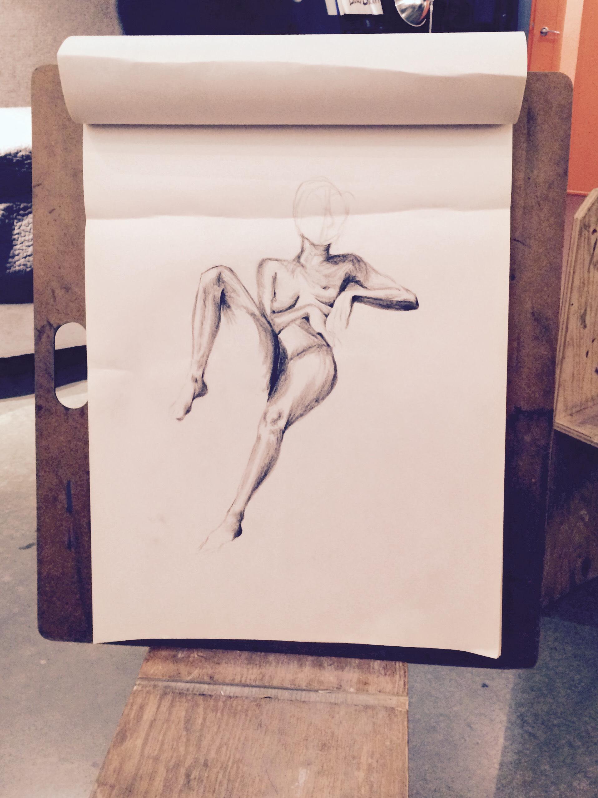 30 Minute Sketch 1 of 4