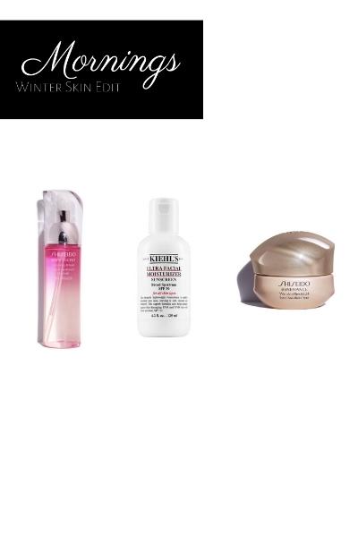 Photo Credit: Kiehl's.com, shiseido.com
