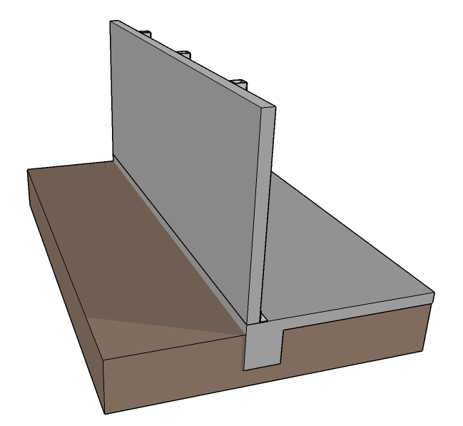 Steel Tube Vertical Strongback