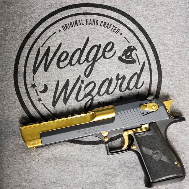 If you're into golf, check out our friend @wedge_wizard  If you're into guns, check out our mod packs and TiN coated items for sale! Link in bio!