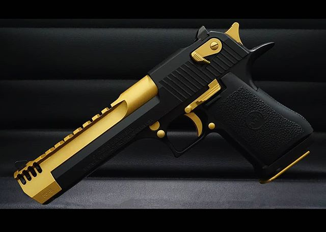 IONFORGE Desert Eagle - - - #guns #deserteagle #firearms #dailybadass #gunsdaily #2a #secondamendment #freedom #custom #badass #50cal #selfdefense #defenseordefence #badassguns #tin #tincoating #titaniumgun #ionforge