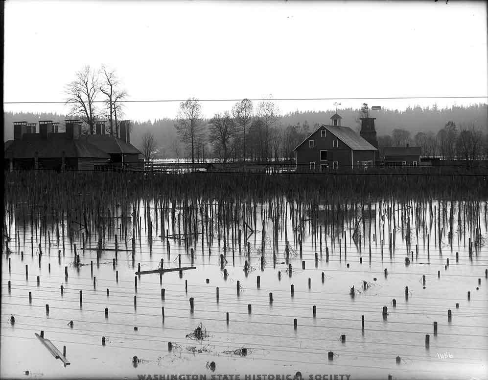 Flooding in Kent Washington 1906.jpg