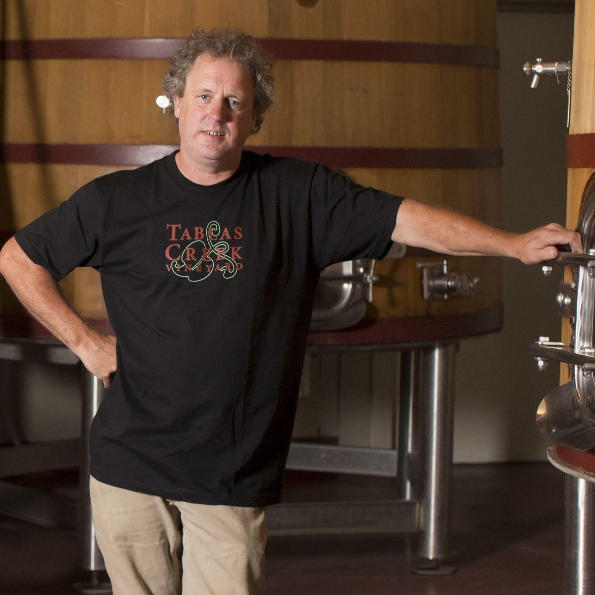 Neil Collins,Executive Winemaker and Vineyard Manager, Tablas Creek Vineyard