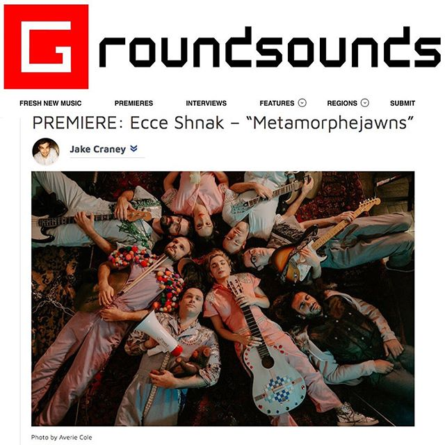 Sending many positive vibes and much gratitude to @GroundSounds for premiering 'Metamorphejawns' today in its entirety!  Tap the link in our bio to listen to the full album ahead of this Friday's release! 💞💞💞