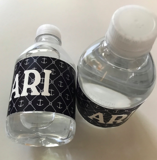 Water Bottle Labels