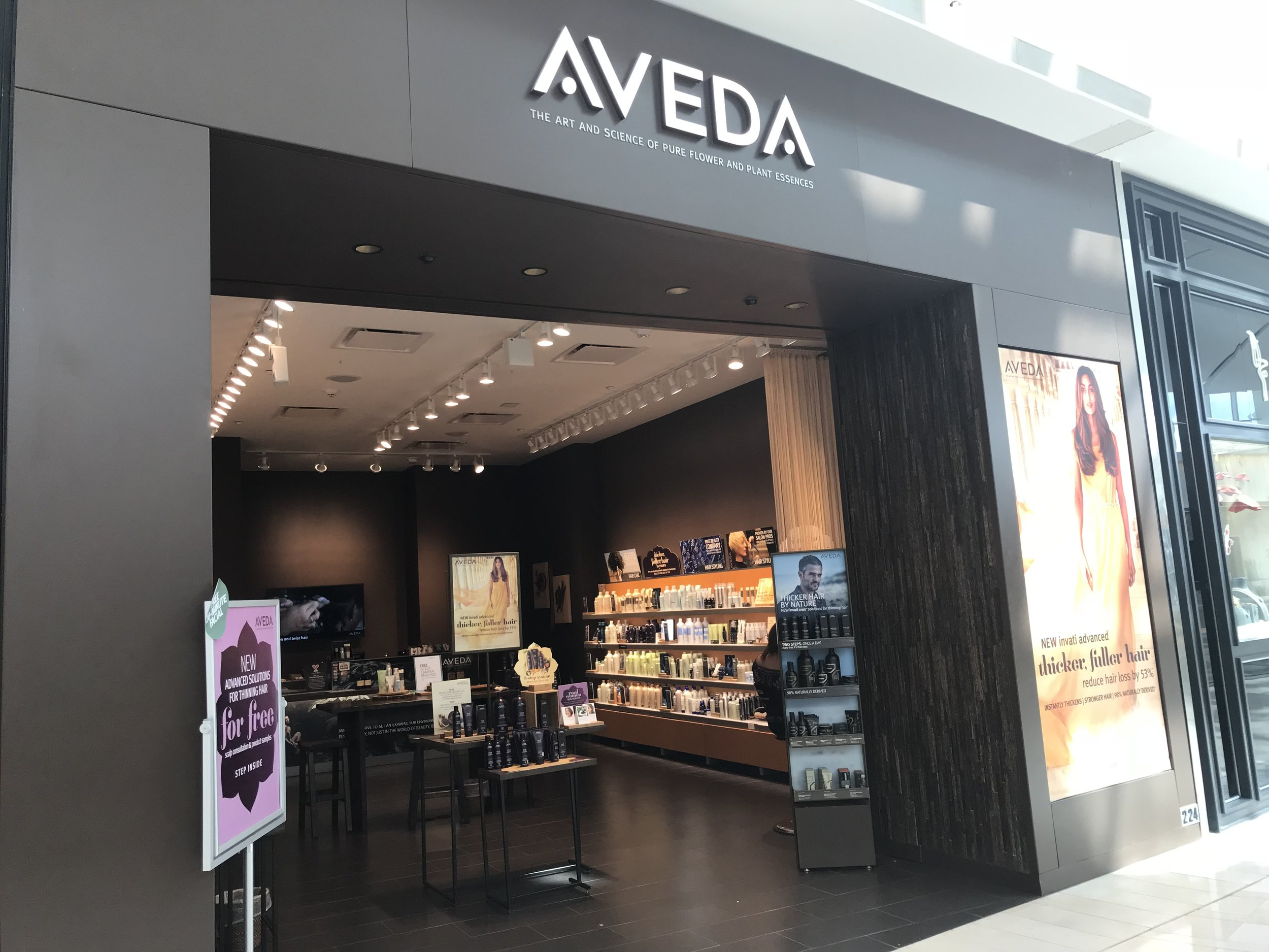 Special gift valued at $60.00, with the purchase of two Aveda products. -
