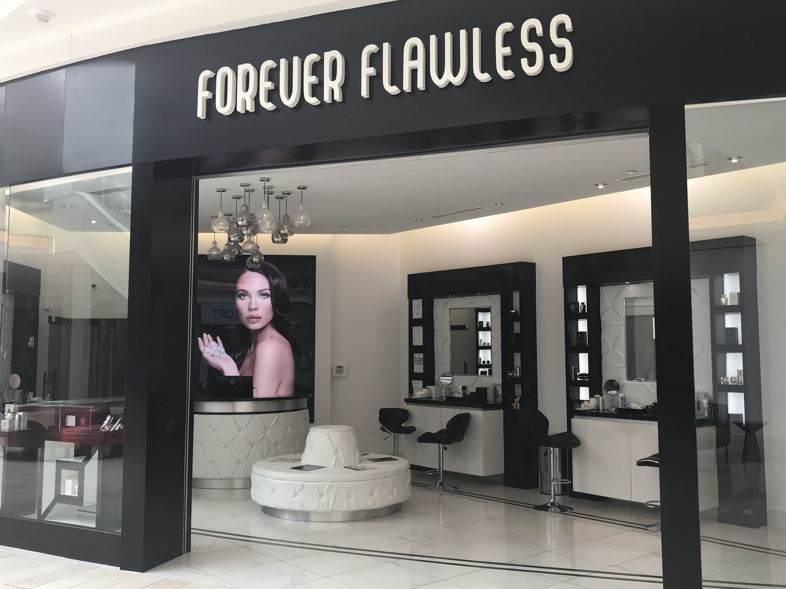 50% instant discount on any purchase, upon presentation of Key Club Card - *Free Facial with Forever Flawless products.*Free gift with any $500.00 purchase.