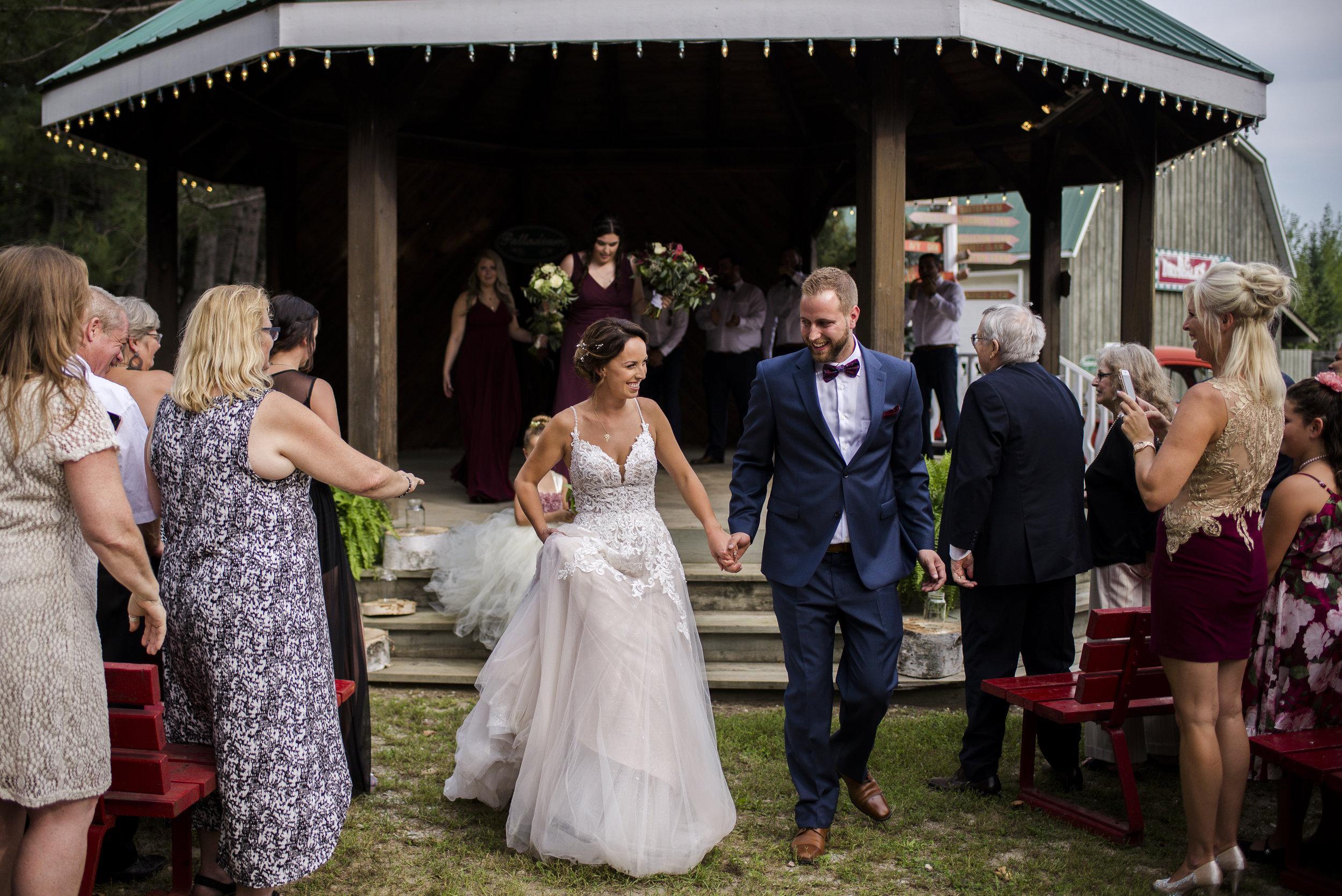 Drysdale Tree Farm wedding