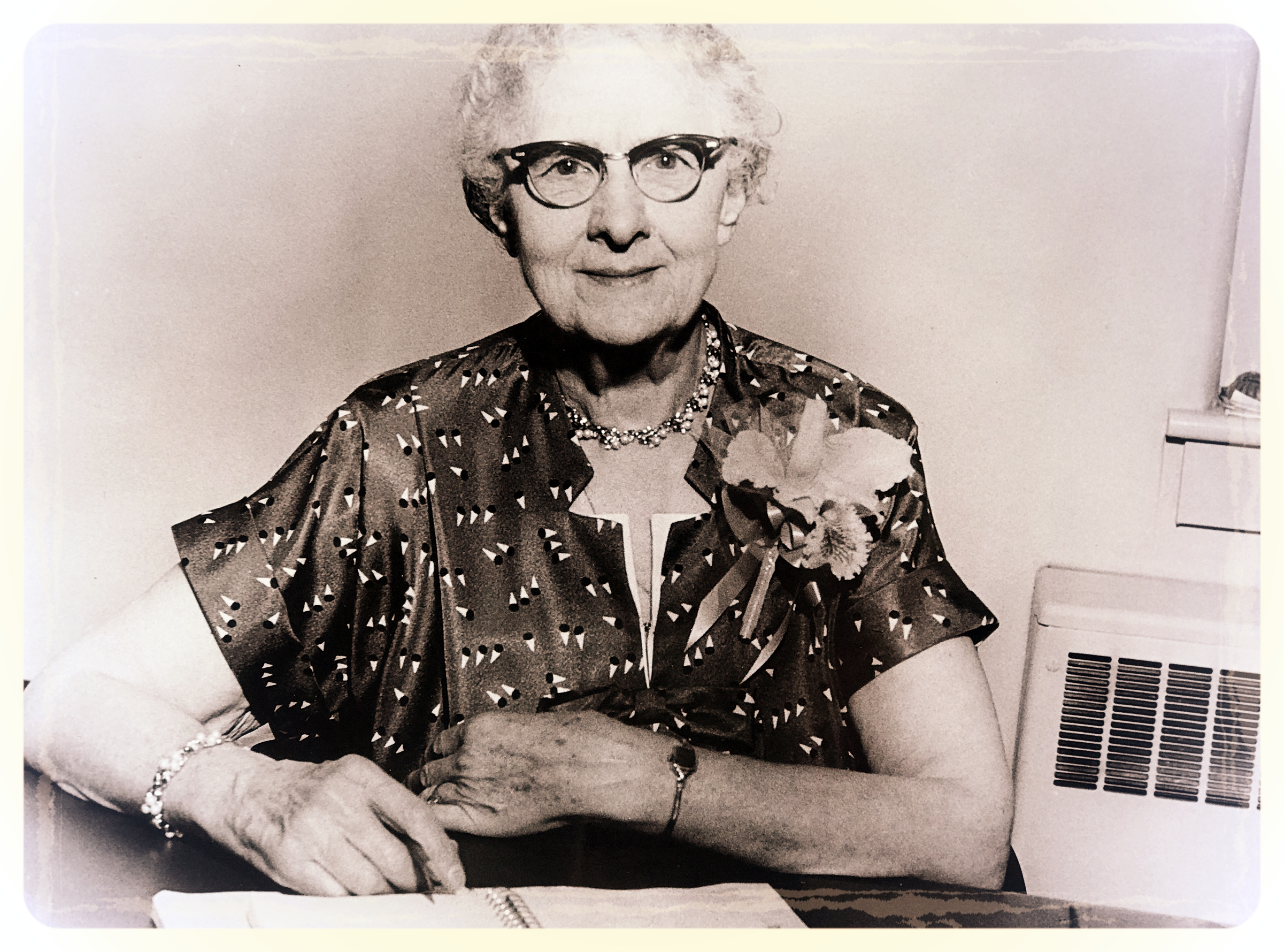 Miss Bess Rosenzweig - Private secretary to Fr. Earl V Sheridan between 1941 and 1958