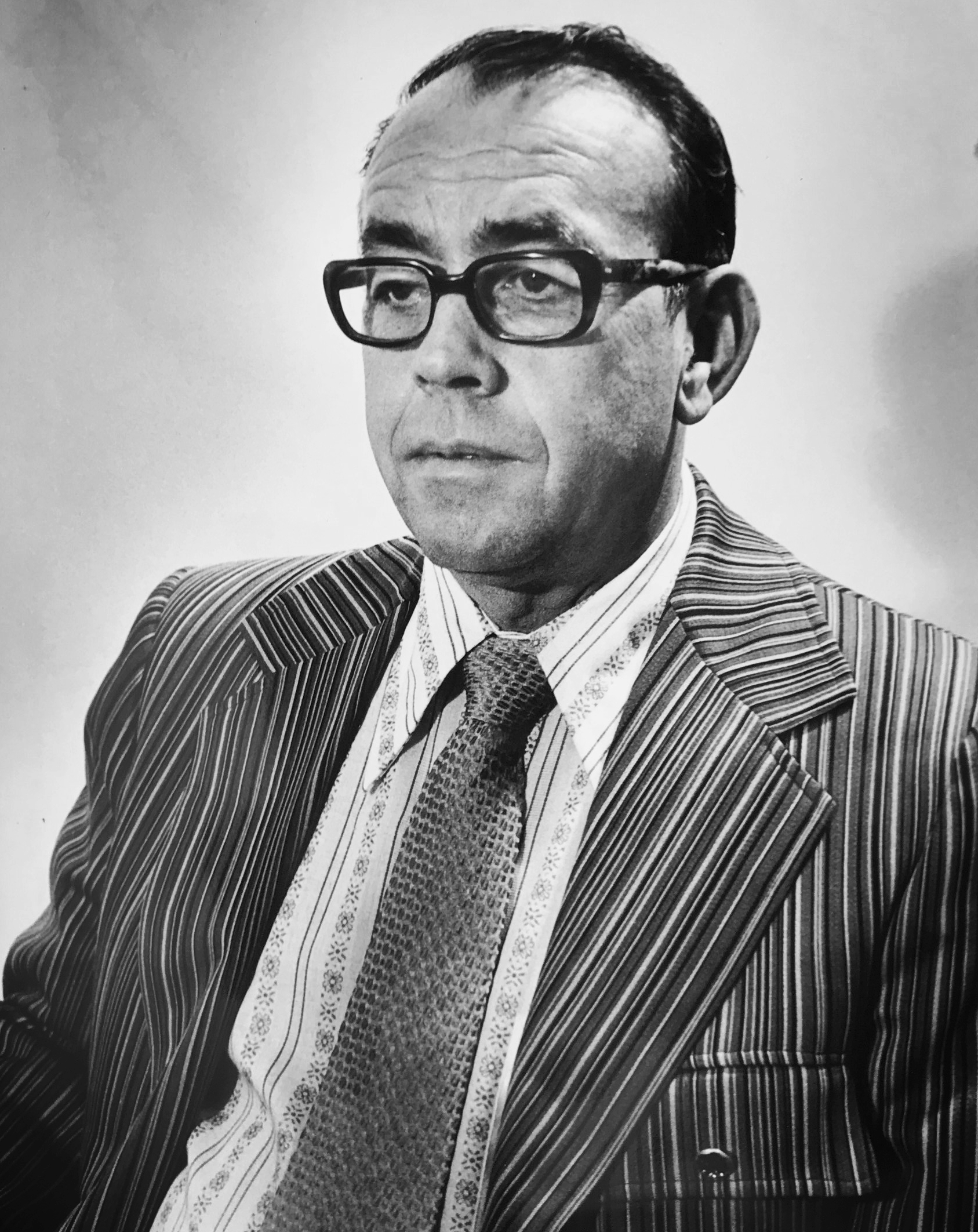William R. Haley - Senior caseworker for Catholic Social, later promoted to Agency Director.
