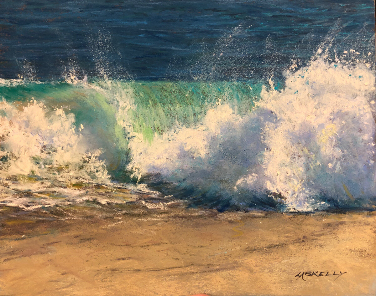 Shore Break Lisa Skelly pastel 8x10.jpg