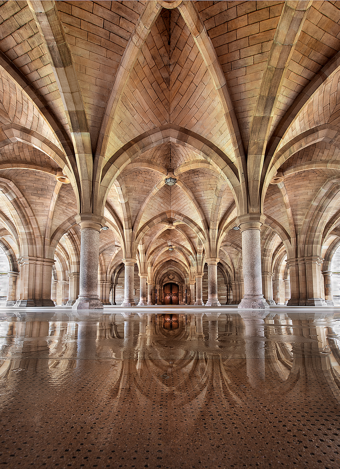 Glasgow University Cloisters