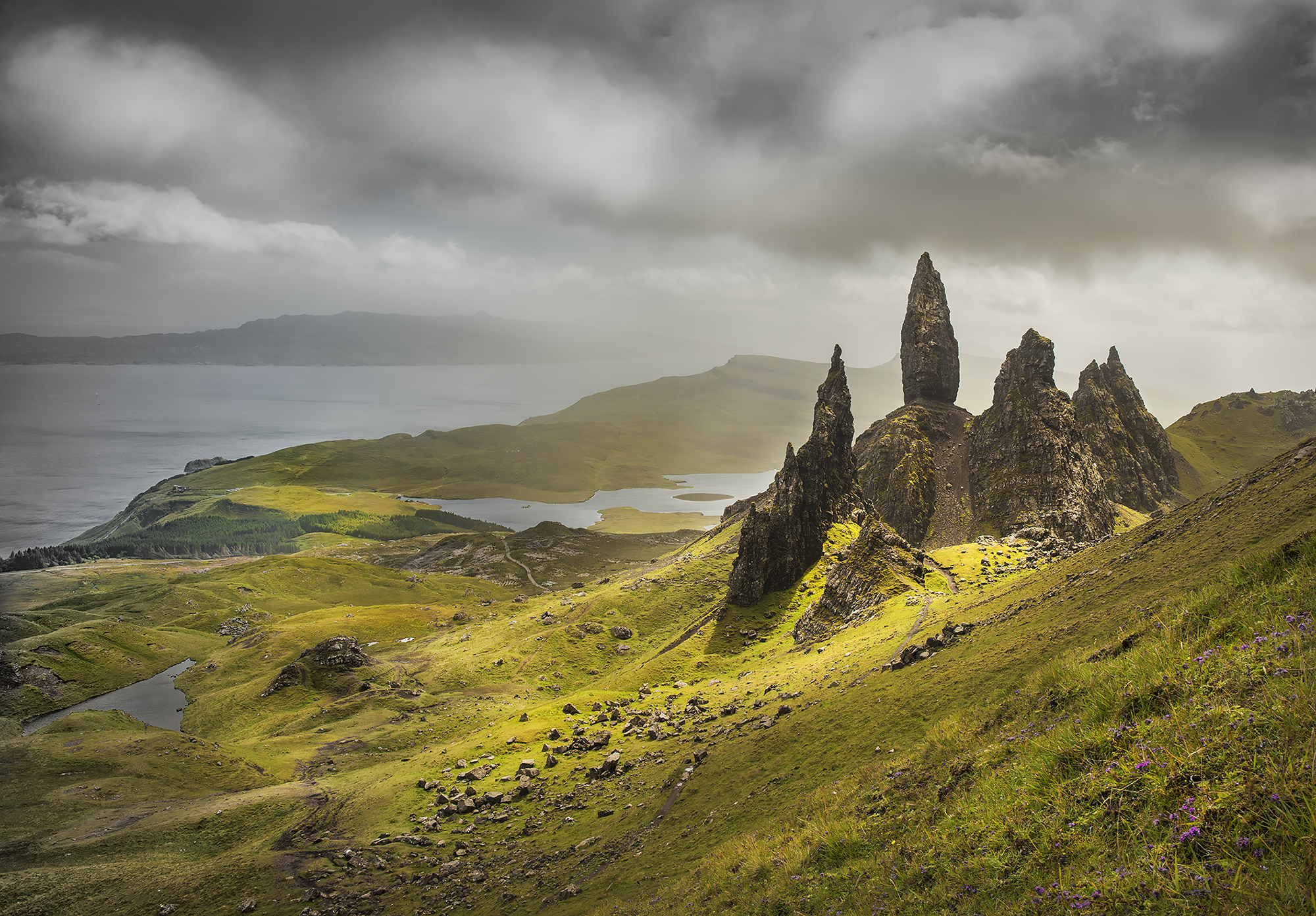 Light on the Storr
