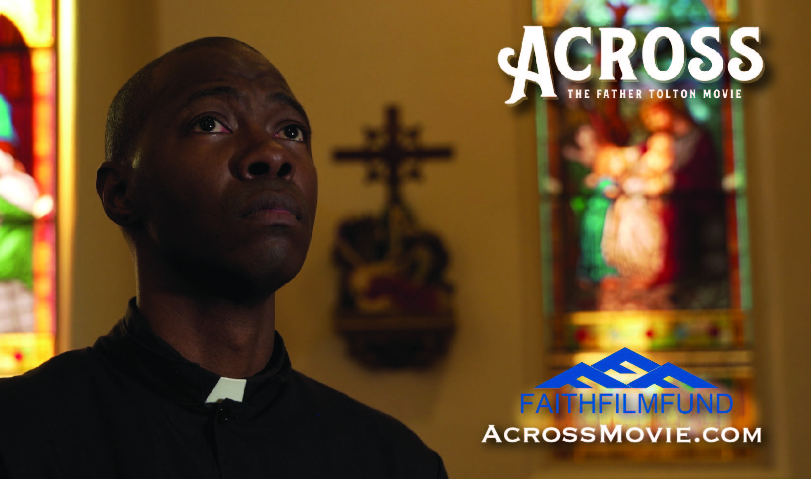 Shawn Whitsell as Augustine Tolton in the short film,  Across