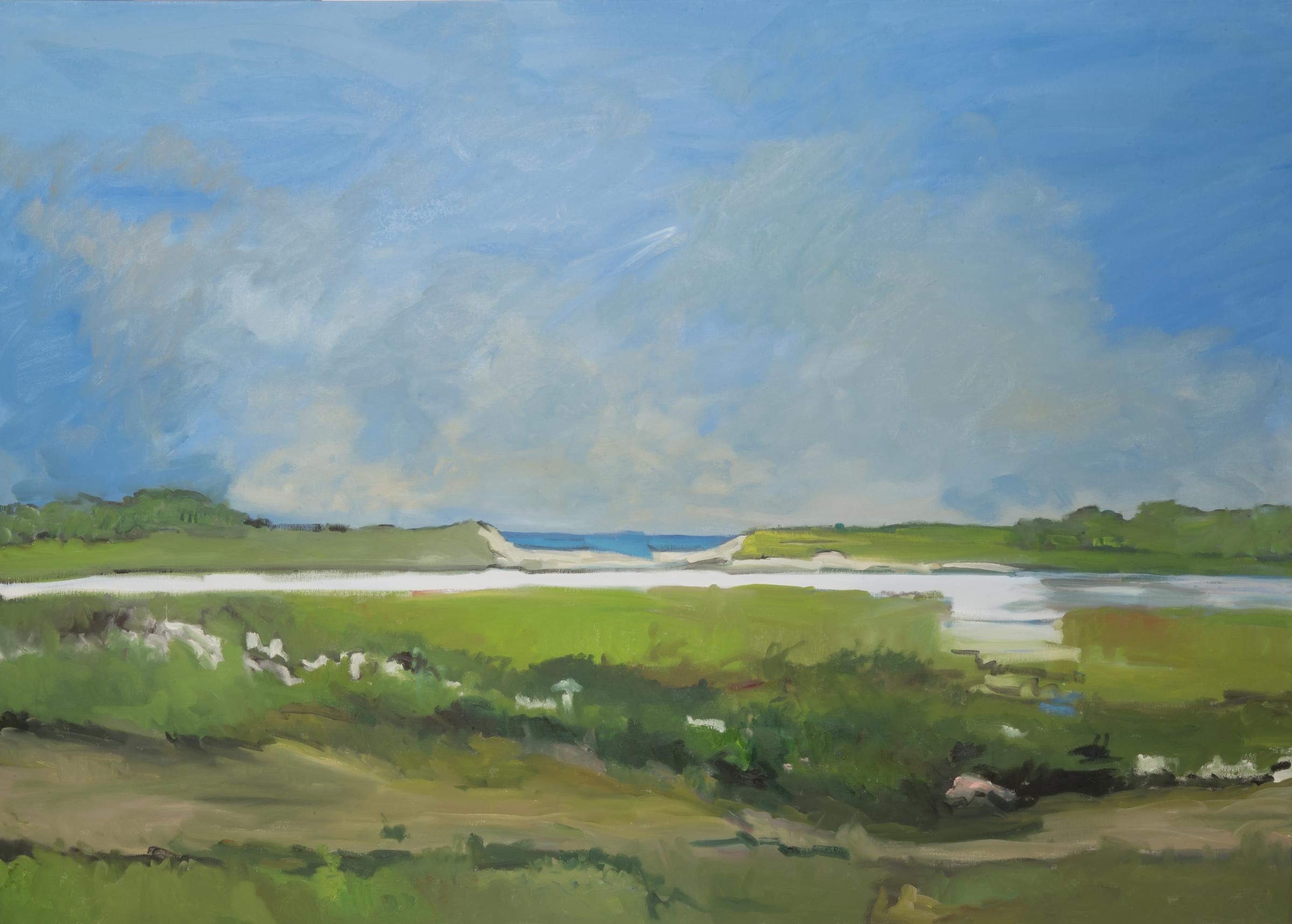 Great Summer Day (Wainscott Pond)