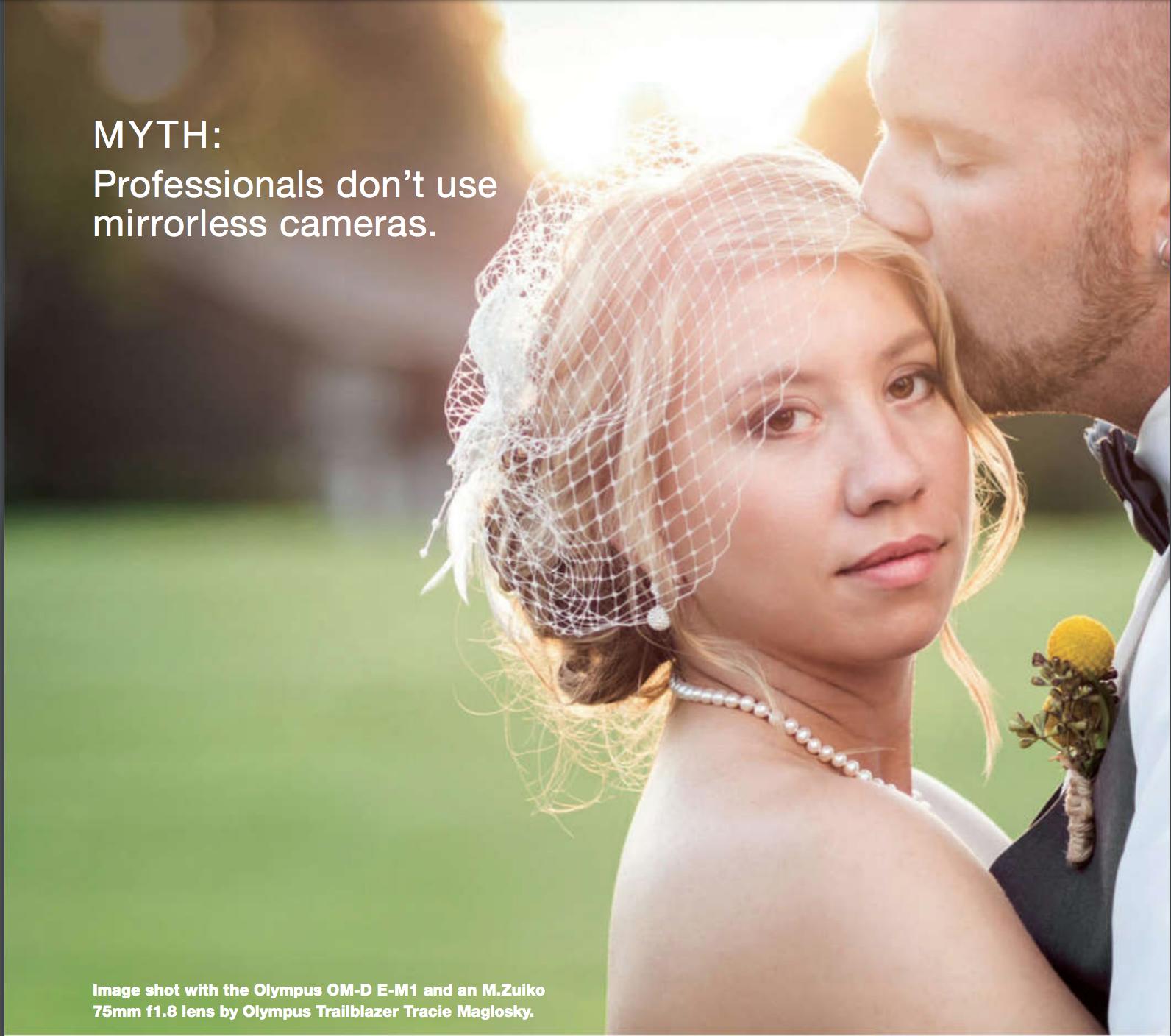 Jessica & Dan Featured in Digital Photo Pro Magazine