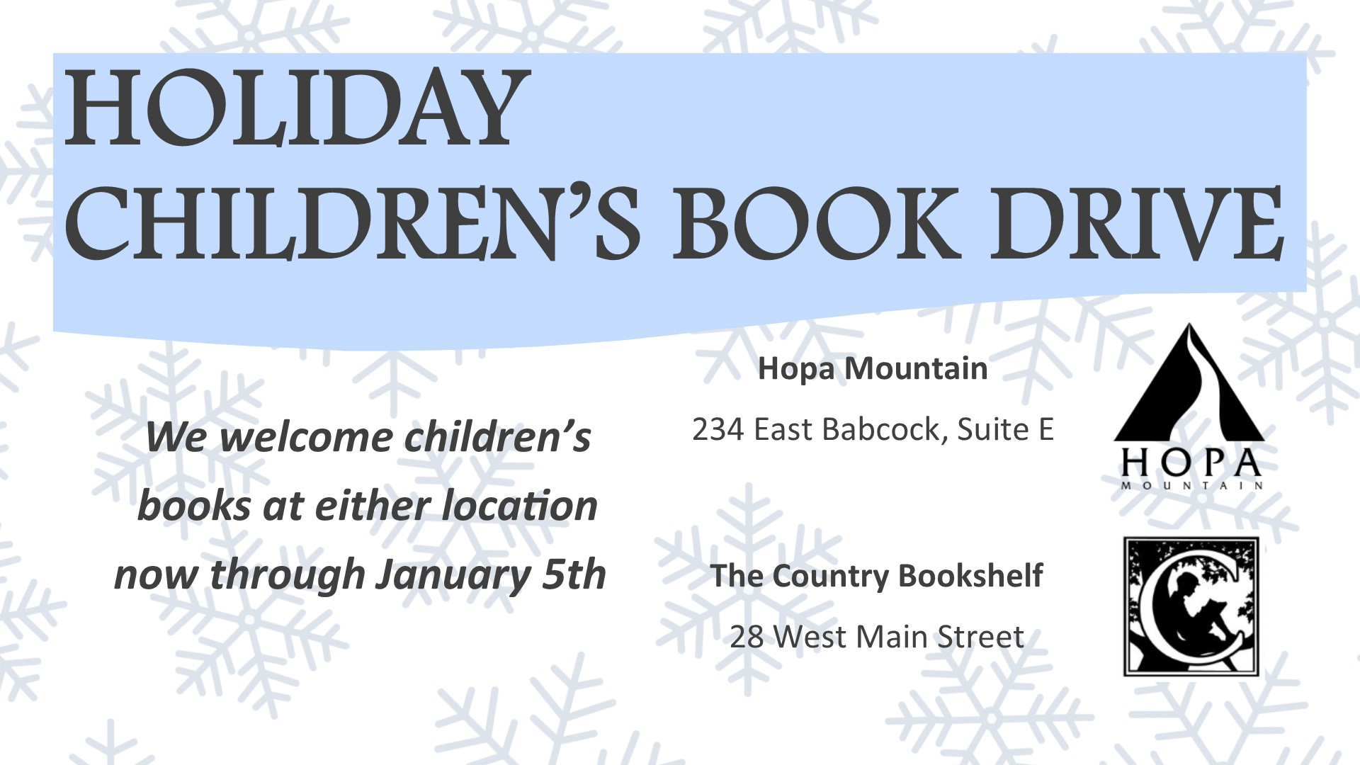 2017 Holiday Book Drive Poster site version.jpg