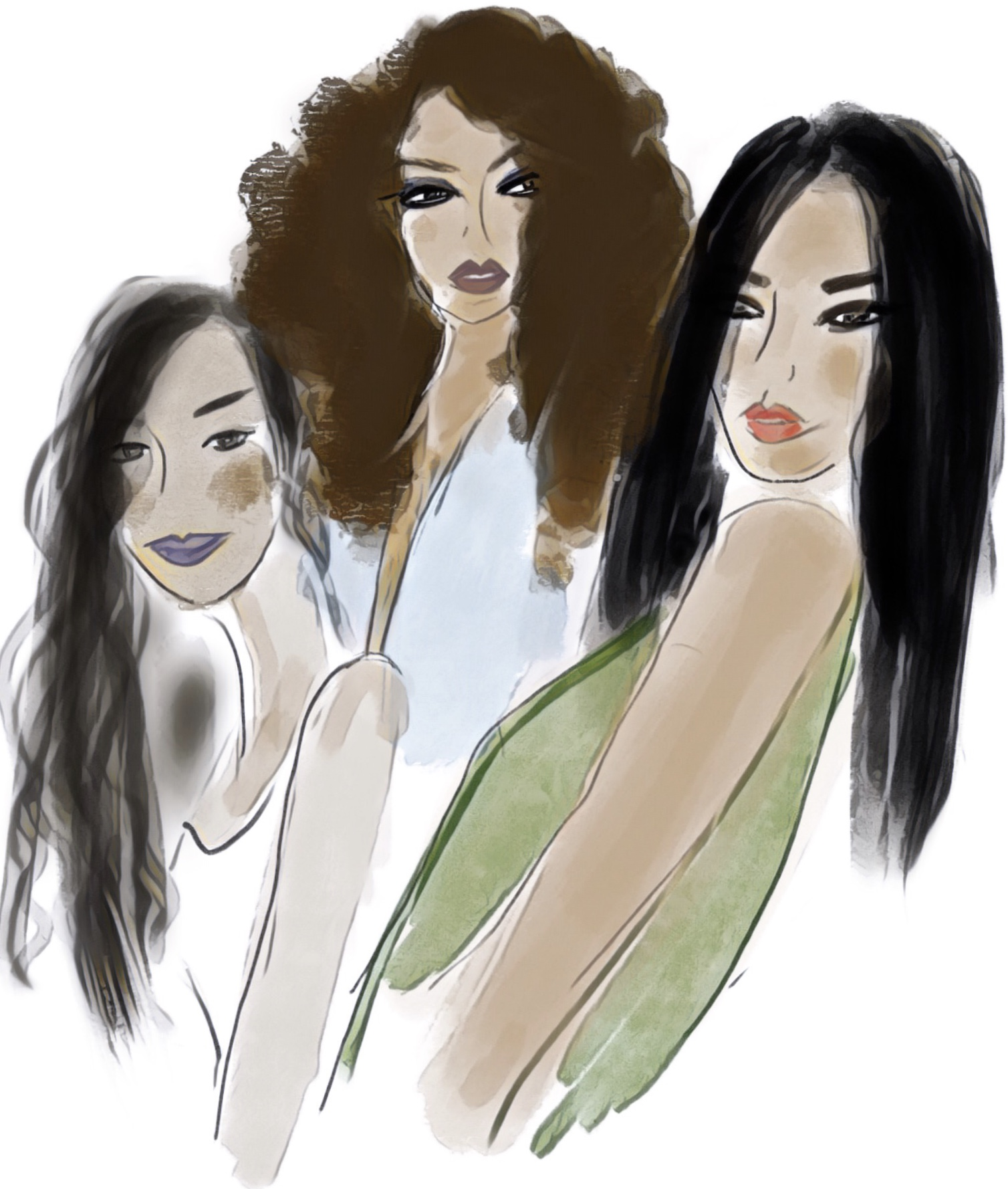 Exclusively Yours - In my debut novel, Exclusively Yours (March 2018), I adopted a mixed salad approach to diversity. My heroine, Leila, is Afro-Caribbean; Brie, her protégé is African- American; and Sofia, her best friend, is Latina. Leila's love interest, Nicolas, is the child of Canadian snowbirds. I tossed it all in.