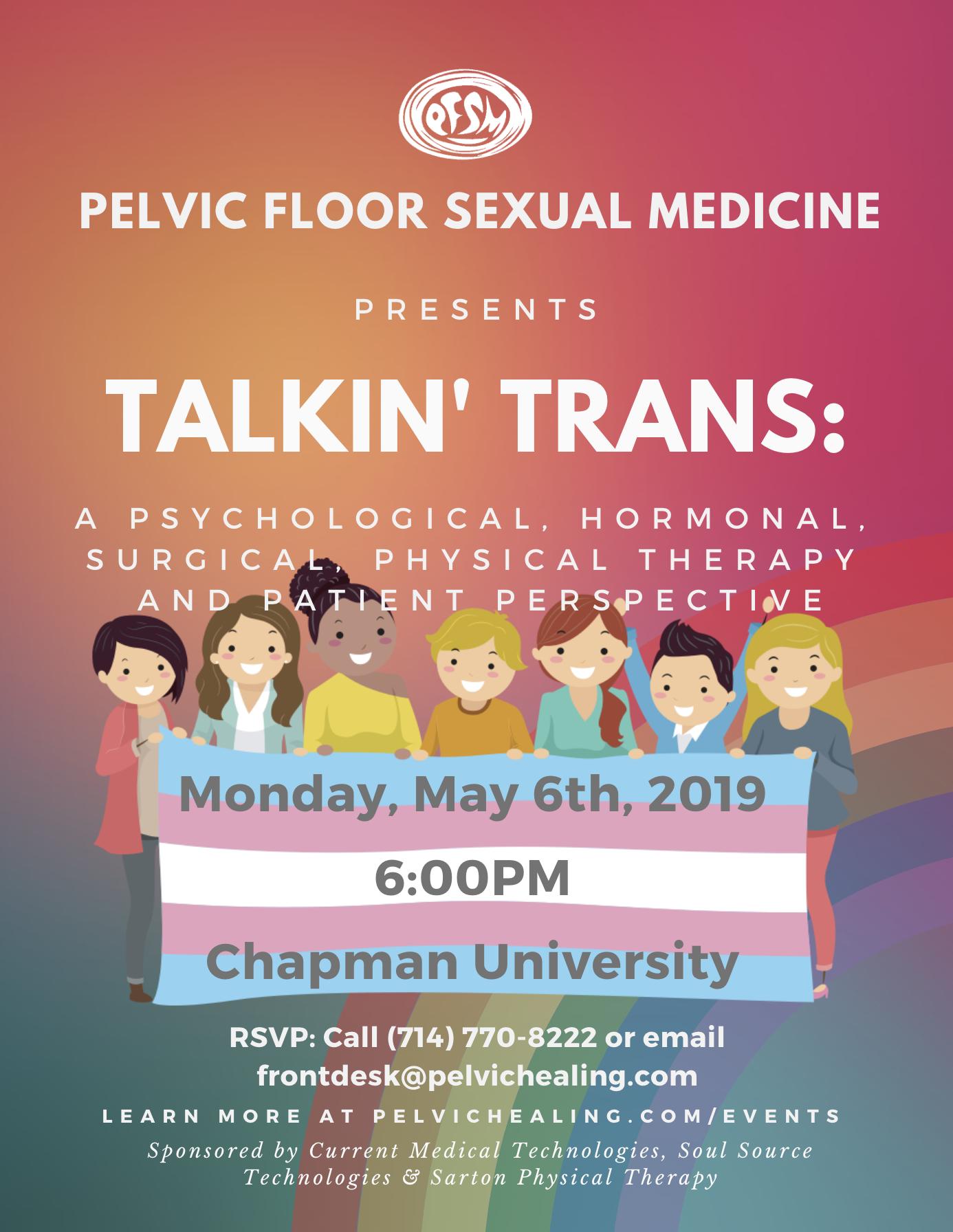 Pelvic Floor Sexual Medicine 2019