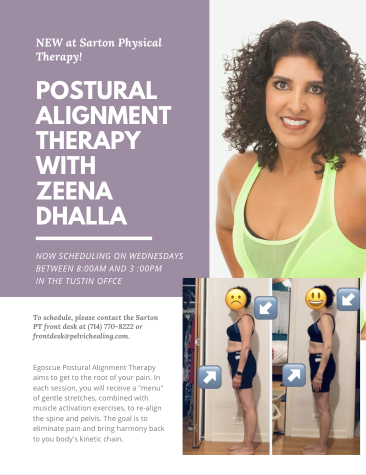 Now Offering Posture Alignment Help Orange County Physical Therapy