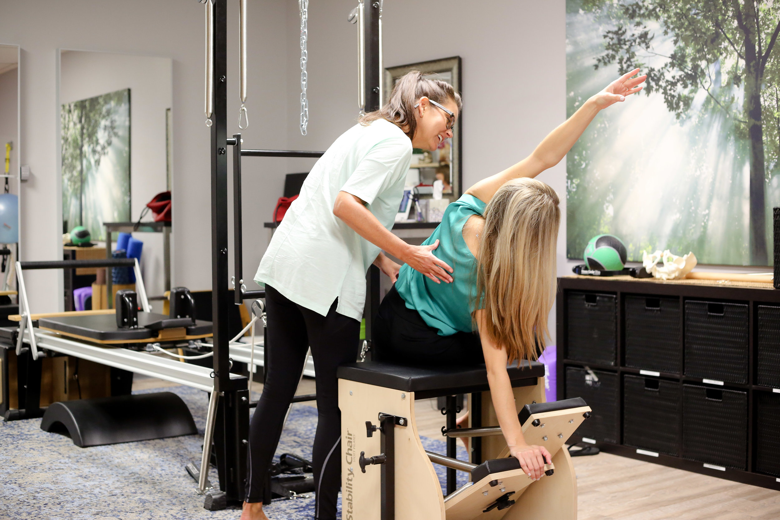 clinical pilates vs. studio pilates