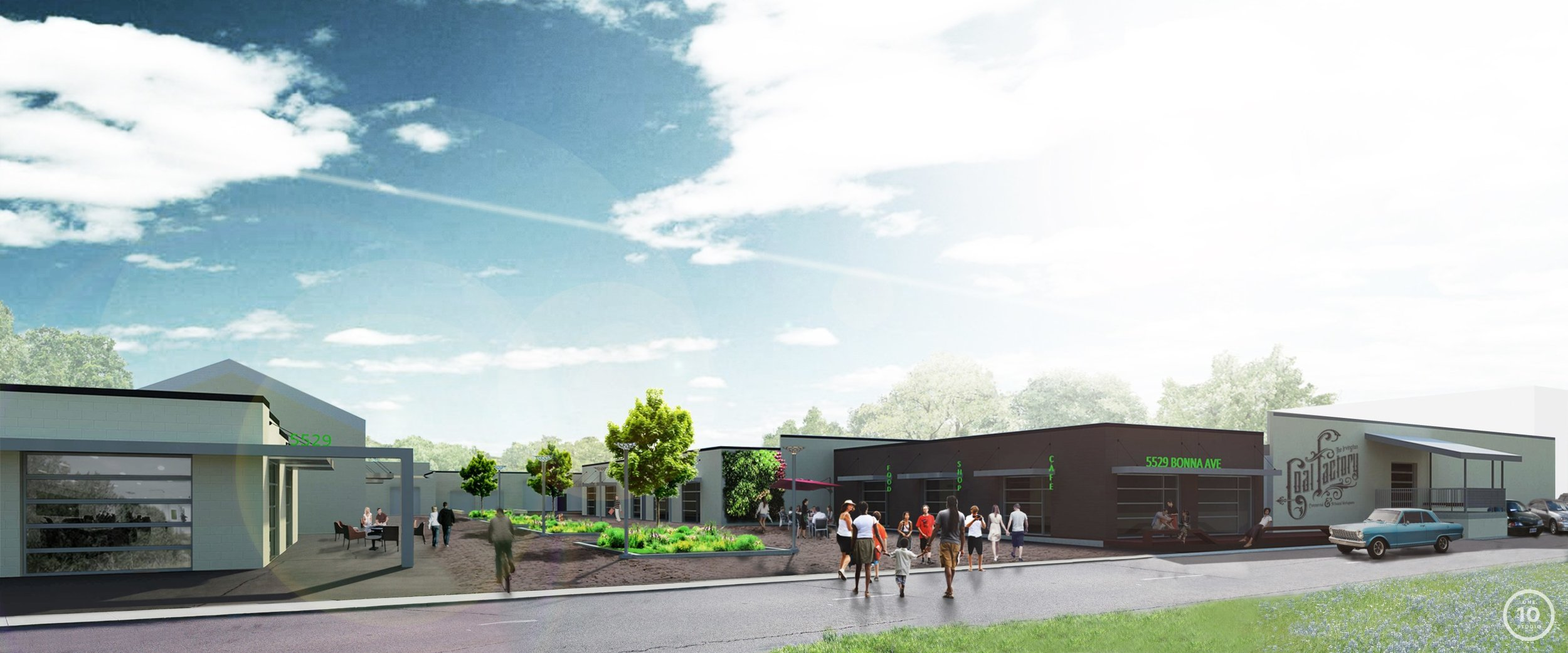 Redevelopment plans for our old facility on Bonna Ave. in Irvington.