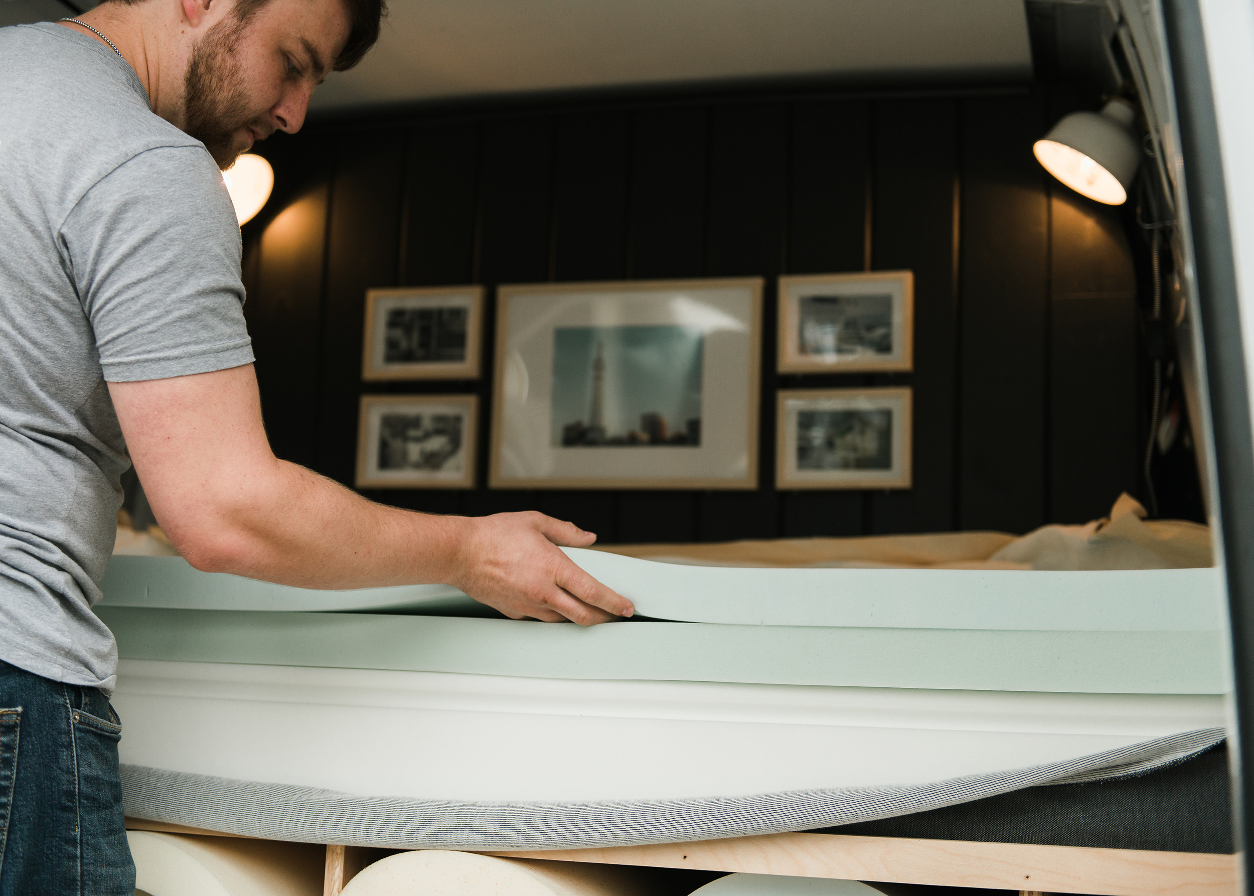 All we did was make a call and had one of the layers exchanged no problem… the best mattress I have slept on. - Sam in Fishers, IN