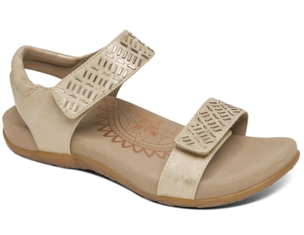 Aetrex Brand - Marci shoe in gold