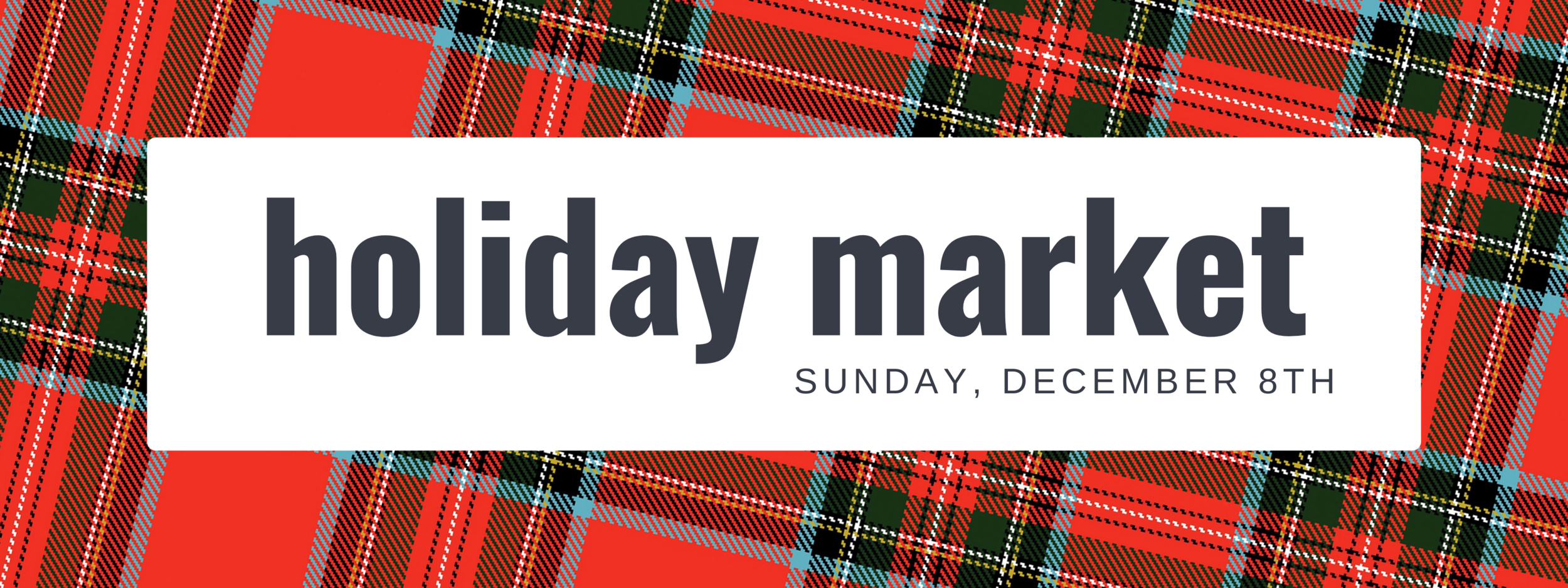 cake's holiday market - dec 8