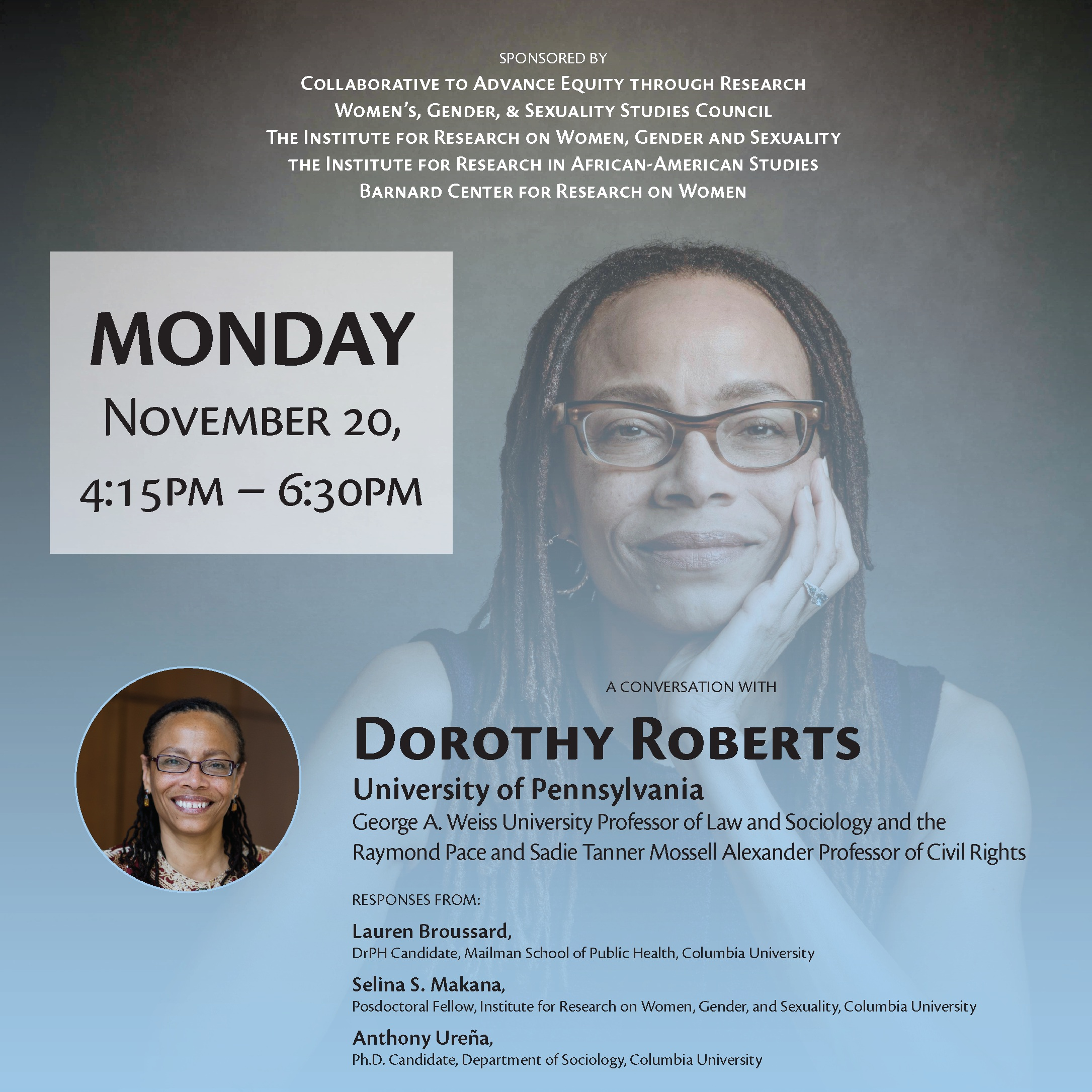 Honoring the 20th Anniversary of Dorothy Roberts'