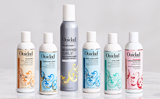 "Now Carrying Ouidad - ""Curls have a language of their own."""