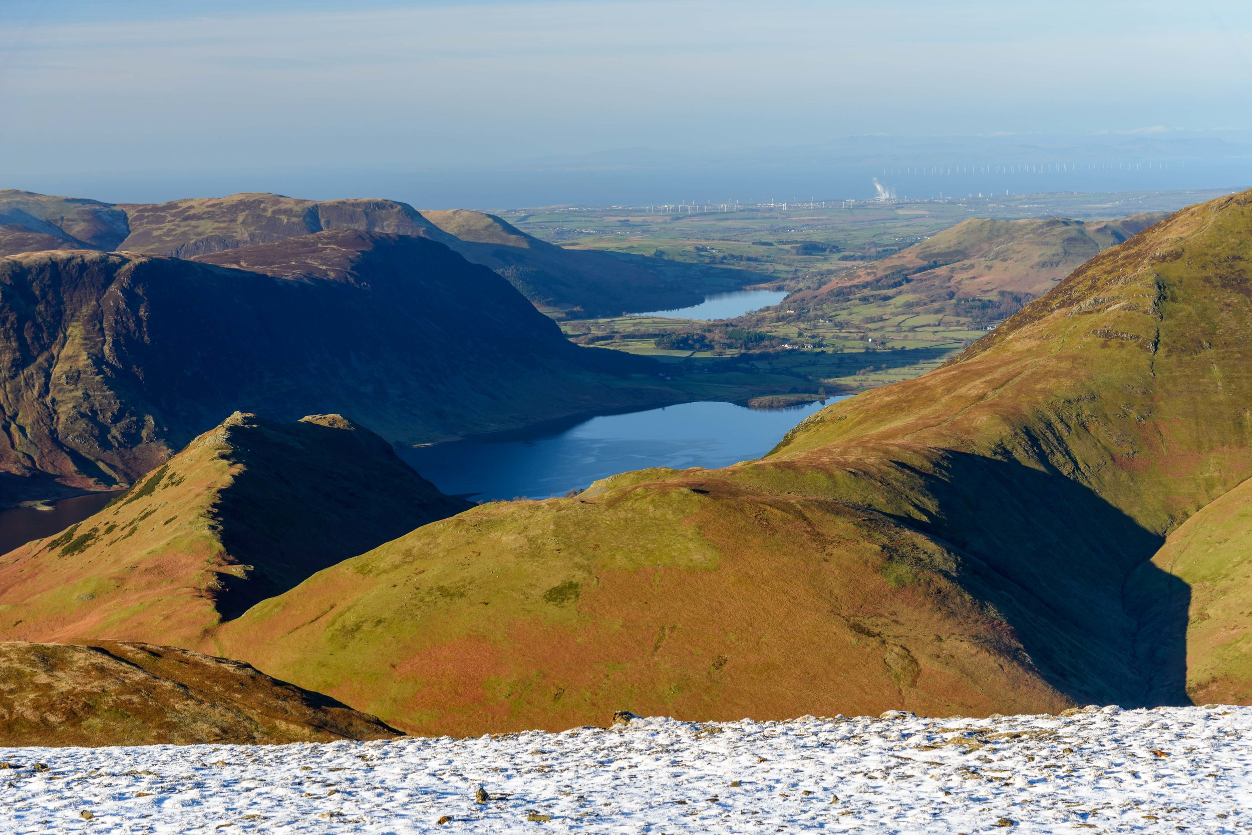The View from Robinson. Crummock Water, Loweswater, Rannerdale Knotts, Mellbreak, Grasmoor and more