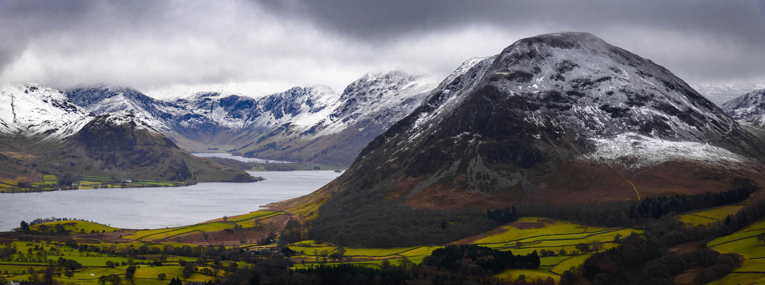 Mellbreak and Crummock Water