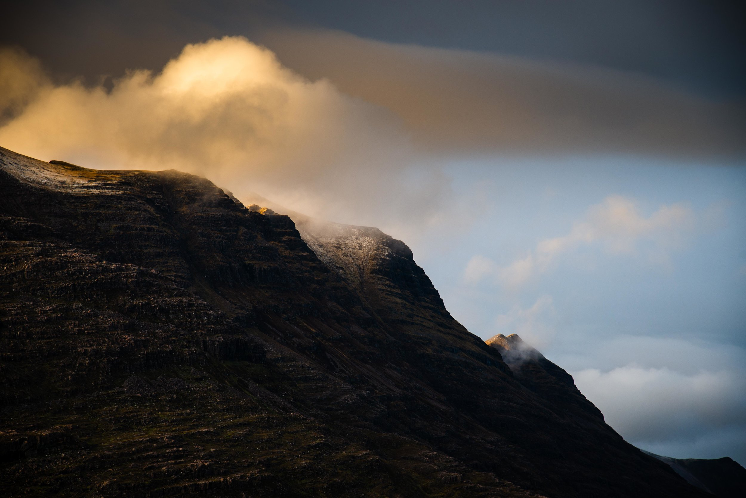 Evening light on Liathach