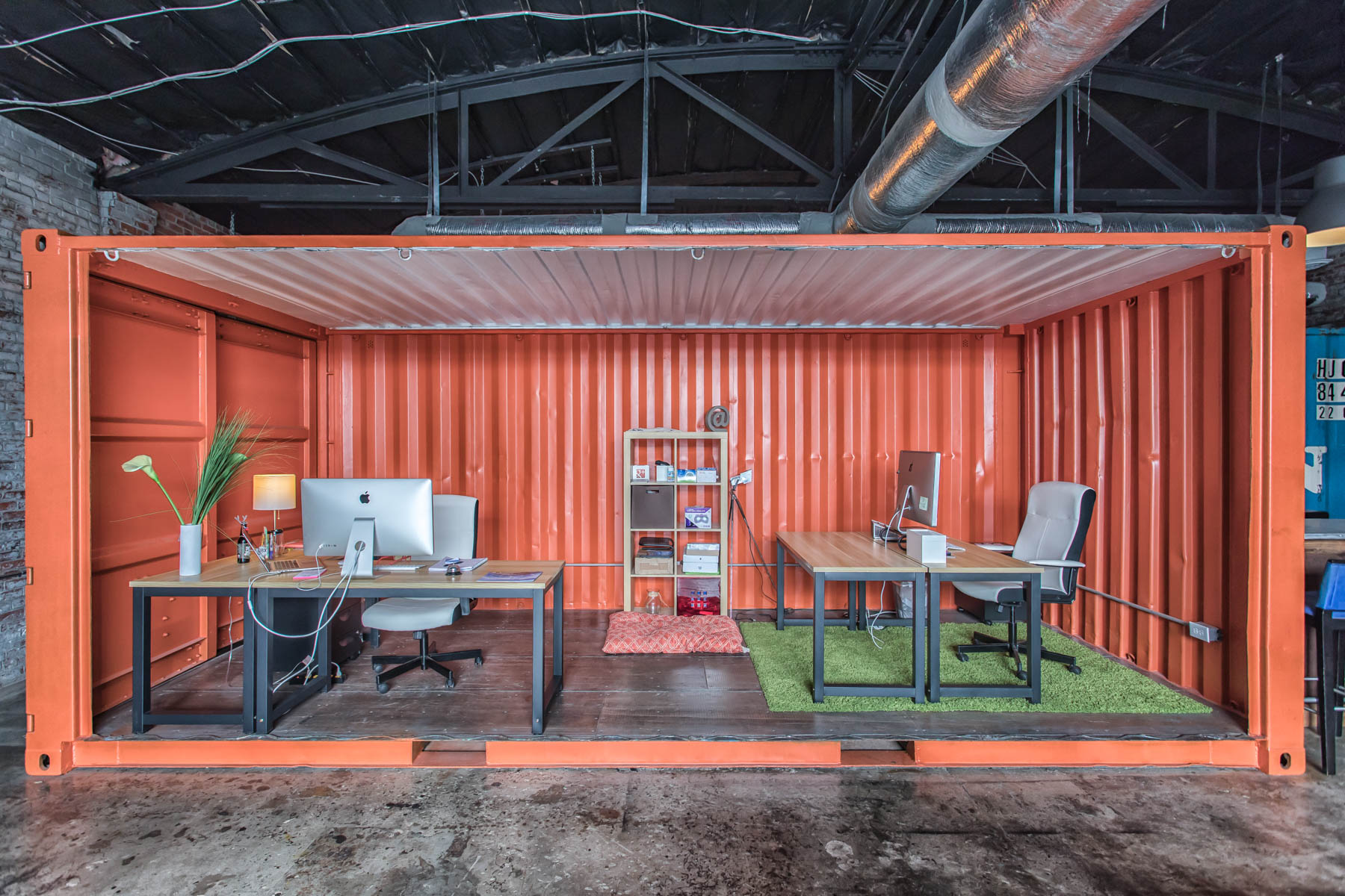 Connect at Coworx - Our collaborative coworking space is located within Wilmington's newest urban market and work village, The Cargo District.