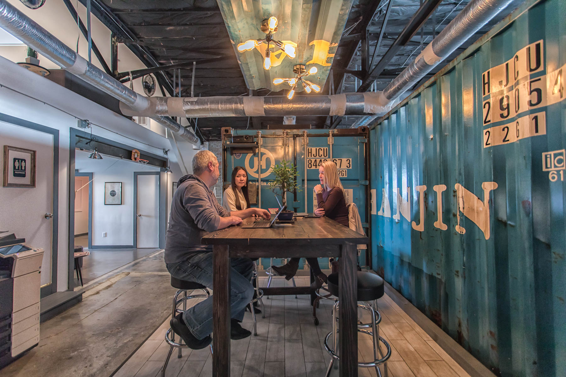 Hello, grab a seat. - We provide a variety of affordable workspace solutions, from General Memberships and as needed Hot Desks to personal Dedicated Desks and fully-furnished Private Offices. All of our plans include month-to-month lease terms, with no long-term contracts.