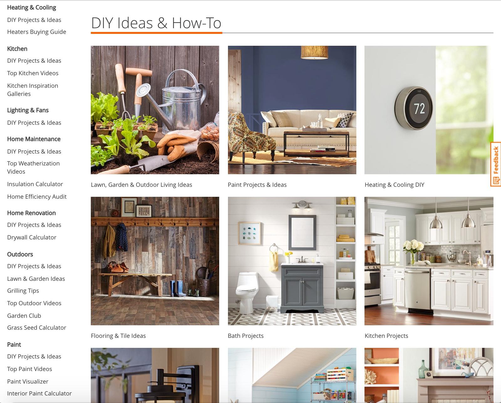 The Home Depot — Helen Ragen Design