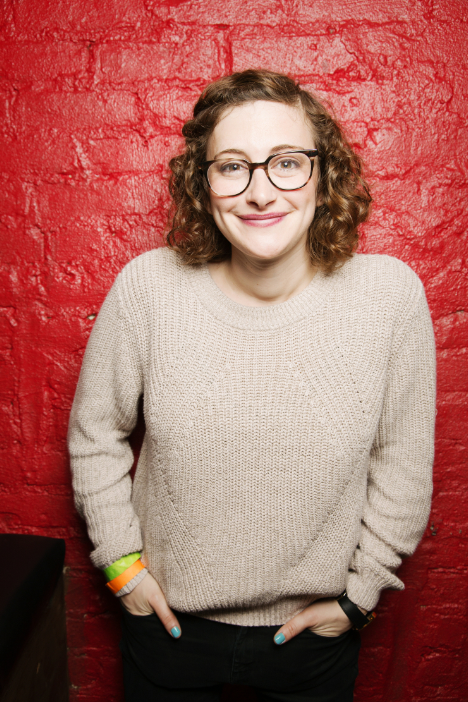 Jo Firestone - Jo Firestone is a comedian whose work can be seen on The Tonight Show Starring Jimmy Fallon, The Chris Gethard Show, and heard on WFMU and Earwolf. She was recently named a New Face at the 2016 Just for Laughs Festival, and her Comedy Central half hour comes out this fall. If you like puns, check out her board game, Punderdome: A Card Game for Pun Lovers. If you don't like puns, don't worry about it. You can also see Jo doing stand-up in different basements around the city.