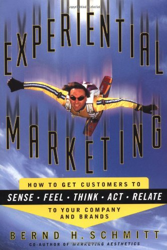 Experiential Marketing, how to get companies to sense, feel, think, act, and relate to your company and brands