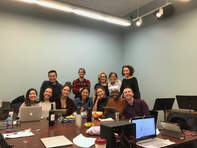 Table-read of Bak Chang at NYU in mid-January. Many thanks to my collaborator, Emily Chiu, and the wonderful actors who shared their talents: Viveca Chow, Kimberly Immanuel, Ashley Coia, Cassandra Hlong, Rebecca Pena, AriDy Nox, and Amie Bermowitz. A special thank you to Steven Eng, for his time and insight, and Jacob Fjeldheim and Benji Goldsmith - for being there.