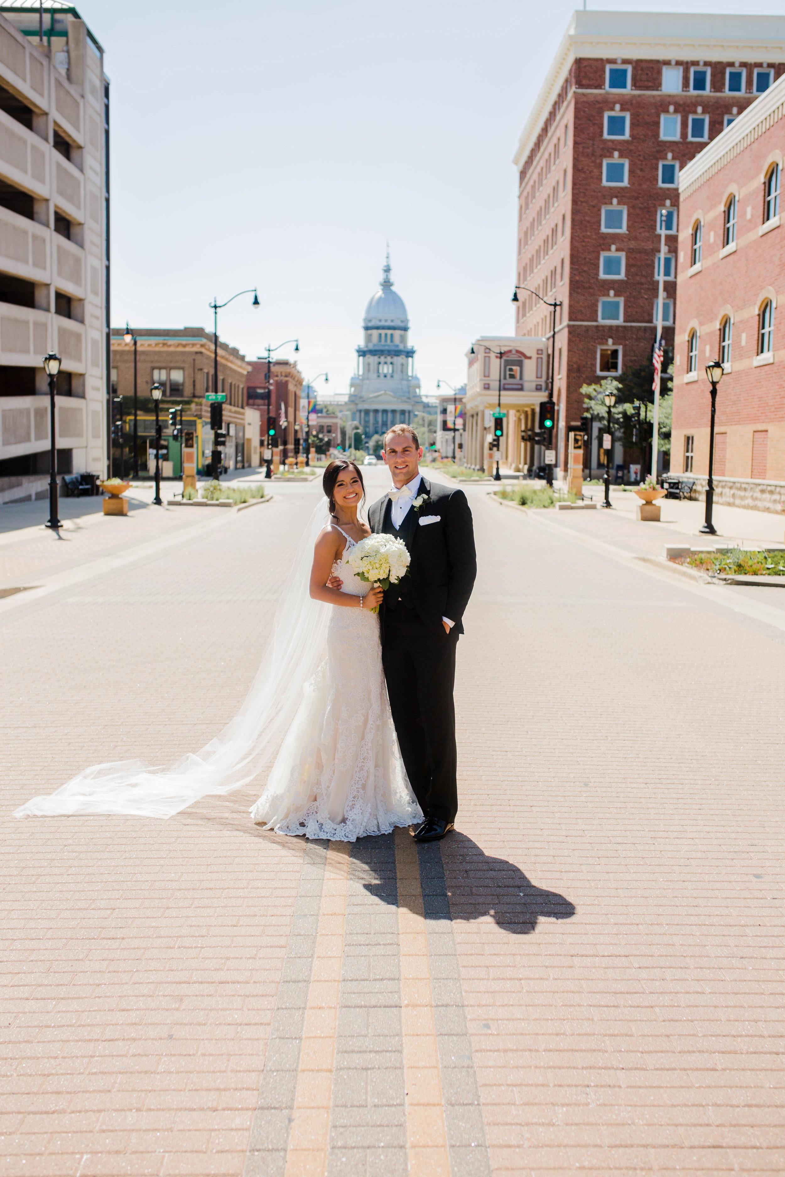 Mr. Springfield & his Bride.