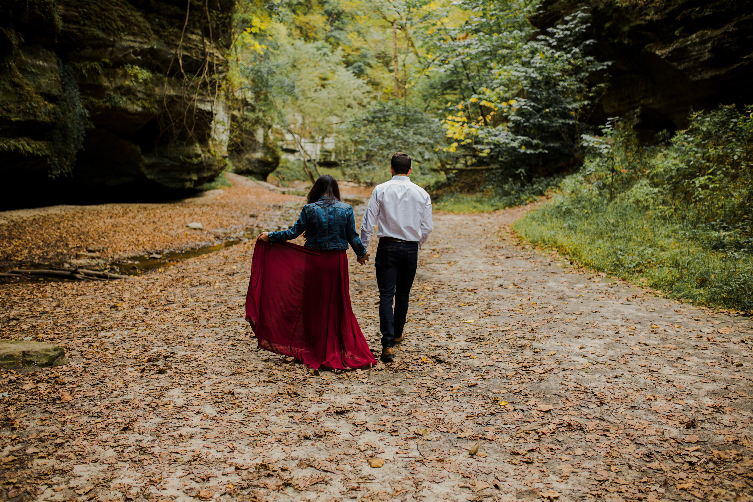 Midwest Illinois State Park Engagement