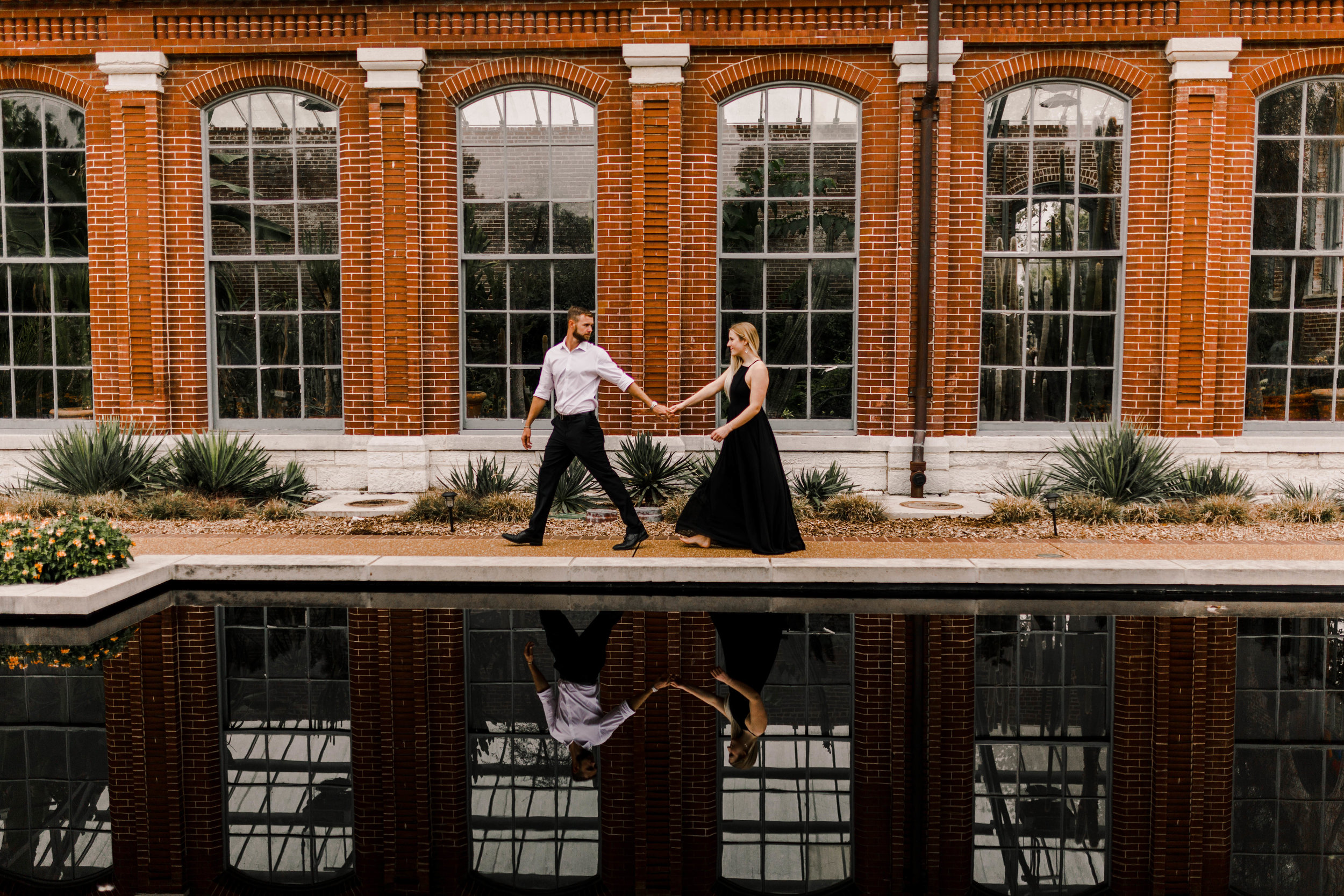 Romantic, intimate, adventurous St. Louis, Missouri engagement