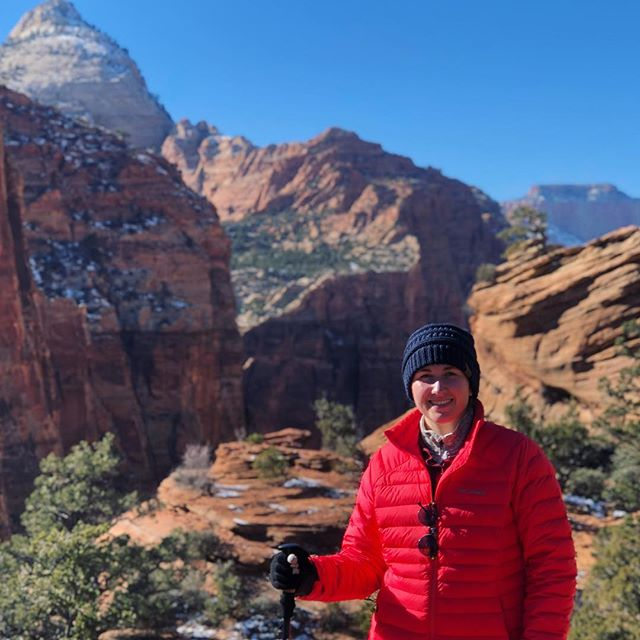 Fist day in Zion & first day of 2019