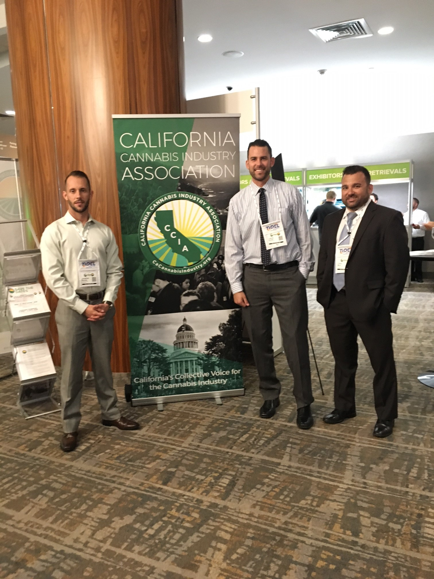 Networking at the Cannabis Business Summit and Expo 2017