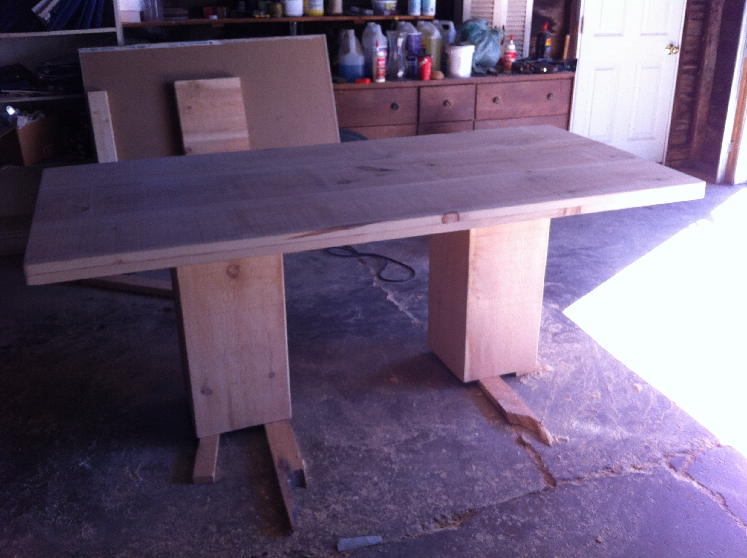 Kitchen Table  - In Progress