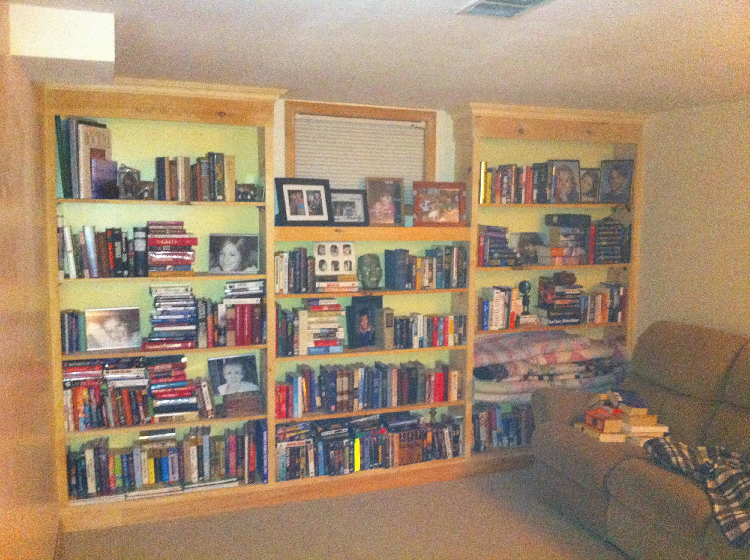 Built In Bookshelf -