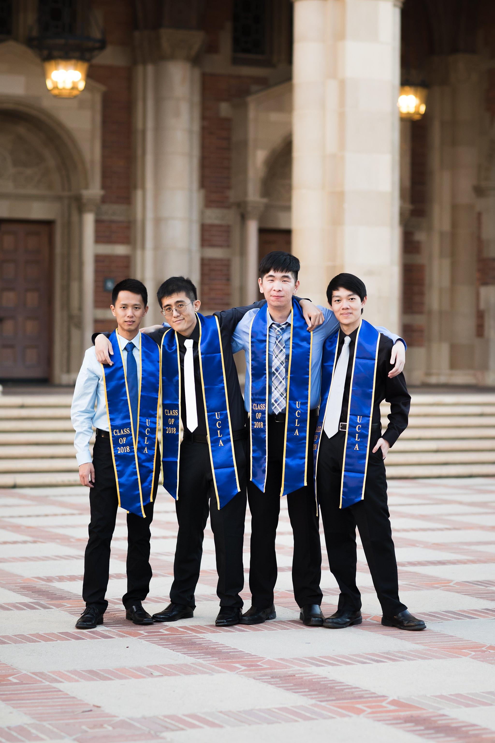 los-angeles-ucla-senior-graduation-portraits-royce-hall-friends