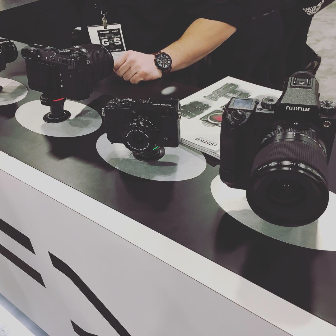 Love the Fuji GFX system! Favorite part of the convention last year was taking their GFX 50S out on loan for a day. Medium format gives so much extra depth, perspective, and detail. One trade-off is that they're so bulky, but they've addressed that in the 50R. I'll trial one out next year and write a blog post on it, for sure!