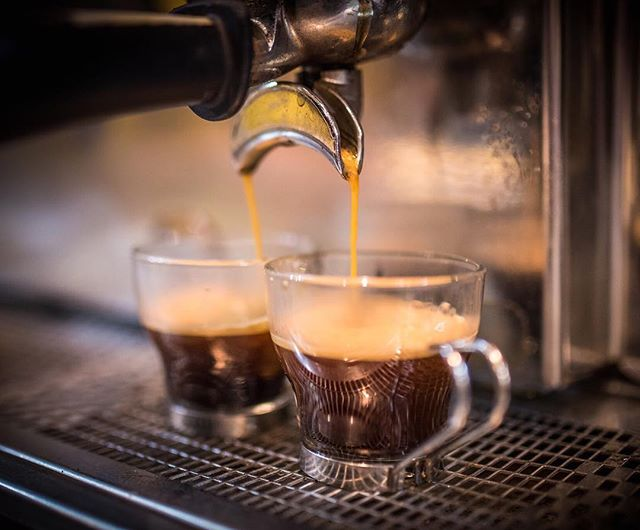 """Coffeetivity: (n.) a feeling of increased activity and self confidence due to the strength of your coffee"". Let us give you a boost! 50c espresso shots for the month of April at Rolled and Roasted (North) on Merrimon Ave! . . . . #MonthlySpecial #ExtraEspressoPlease #CoffeeAddict #Coffeetivity #HalfOffEspressoShots  #JustRollWithIt #TheRolledAndRoastedExperience #TreatYoSelf"